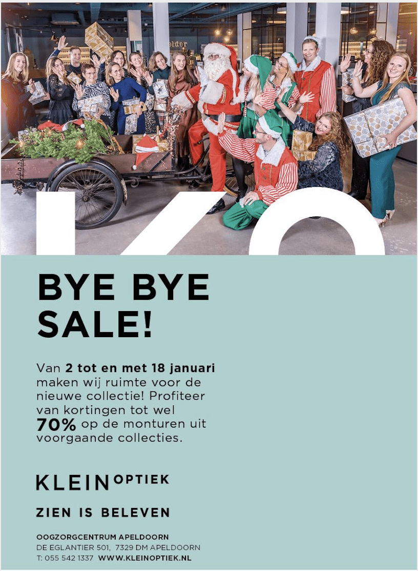 Sale Klein Optiek